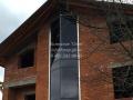 Алюминиевые фасады двухэтажных домов Горячий Ключ