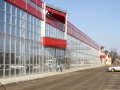 Алюминиевый фасад для торгового комплекса
