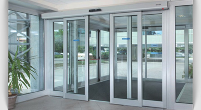 Автоматические двери для магазина