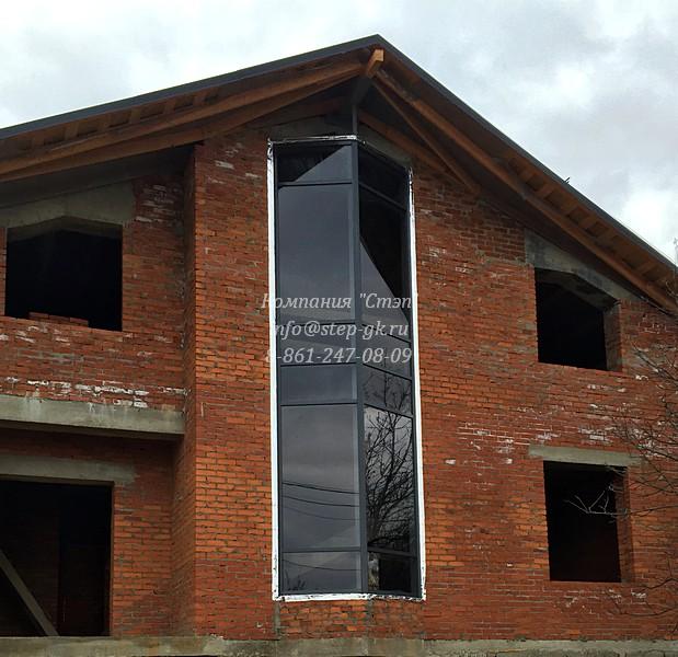 Алюминиевый фасад в Туапсе