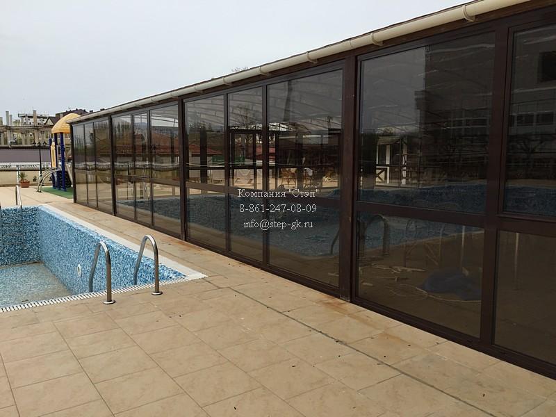 Фасад для крытого бассейна