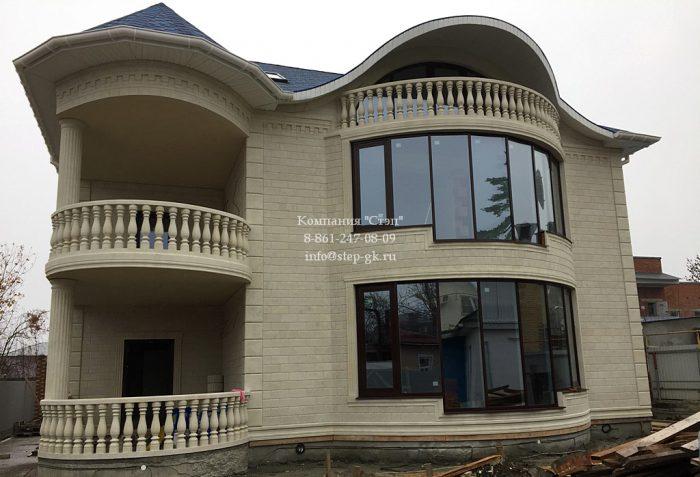 Алюминиевый фасад в Краснодаре