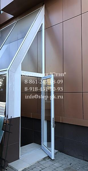 Алюминиевые двери из профиля Alutech ALT C48