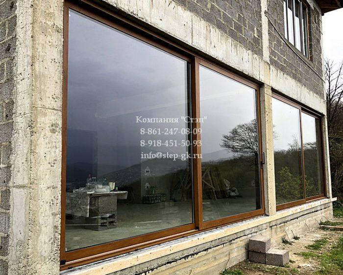 Раздвижные окна Alumil S560 в Сочи