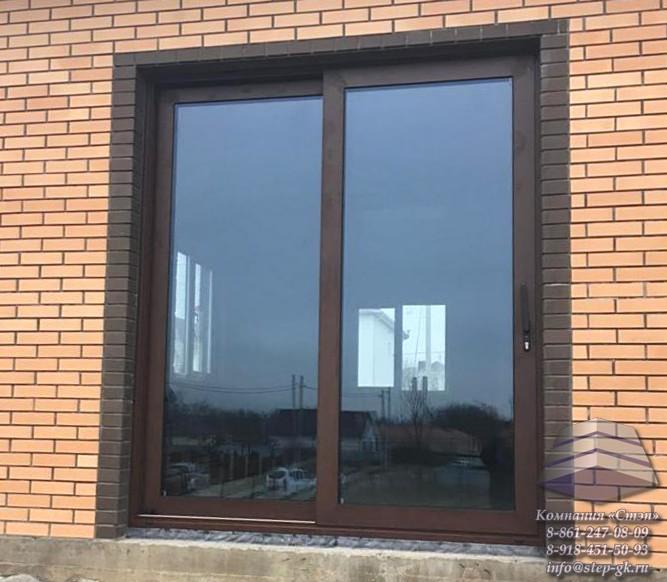 Раздвижные алюминиевые двери и окна