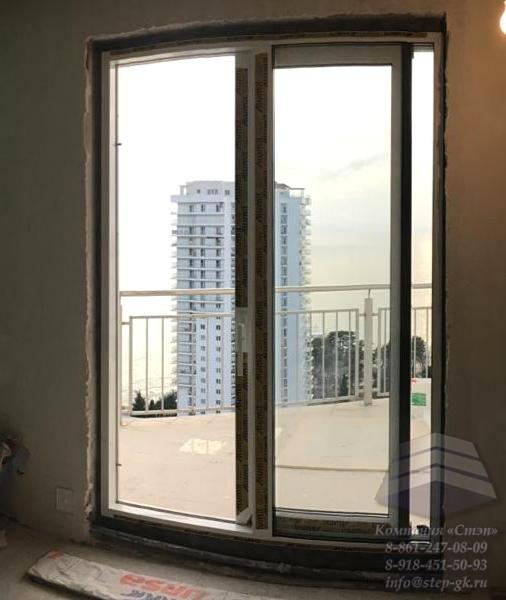 Раздвижные алюминиевые окна для террасы и веранды