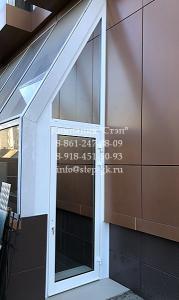 Алюминиевые двери ALT C48 в Краснодаре