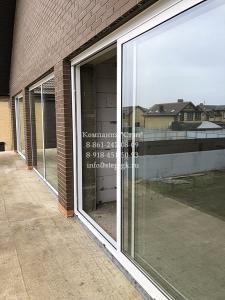 Раздвижные алюминиевые окна Alumil S560