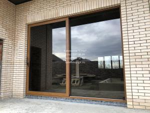 Раздвижные алюминиевые двери Alumil S560