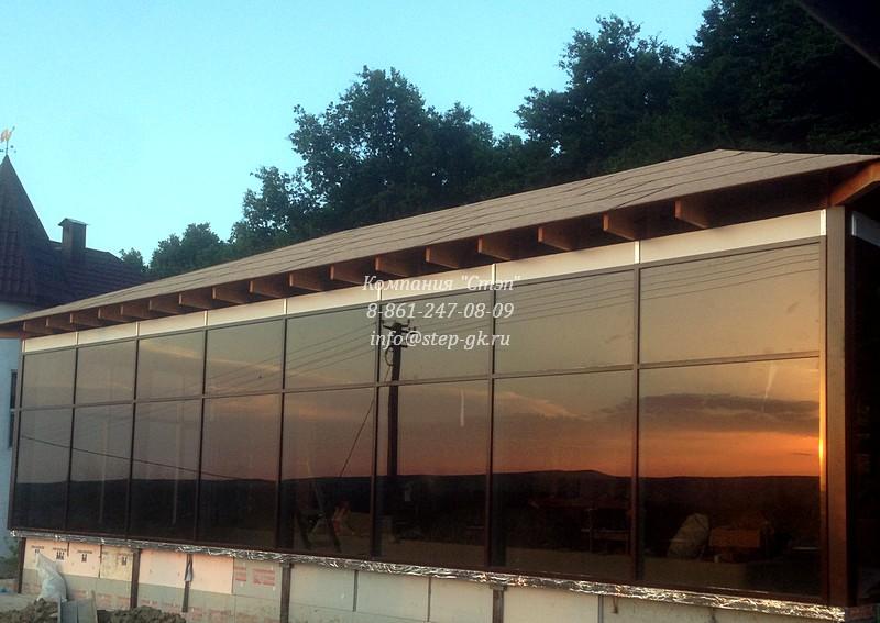 Фасад алюминиевый для зданий