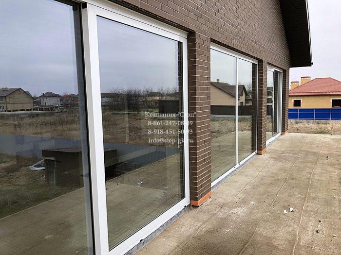 Подъемно-сдвижные двери и окна Alumil S560