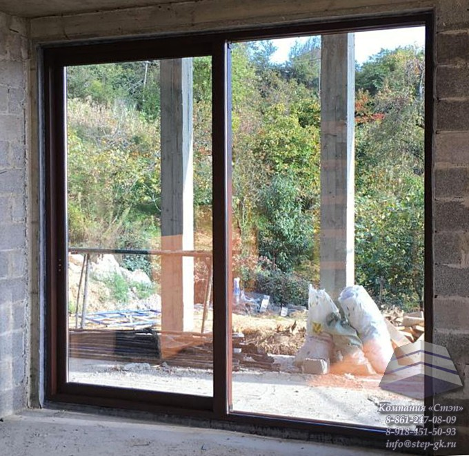 Подъемно-сдвижные двери и окна Alumil S560 заказать в Темрюке