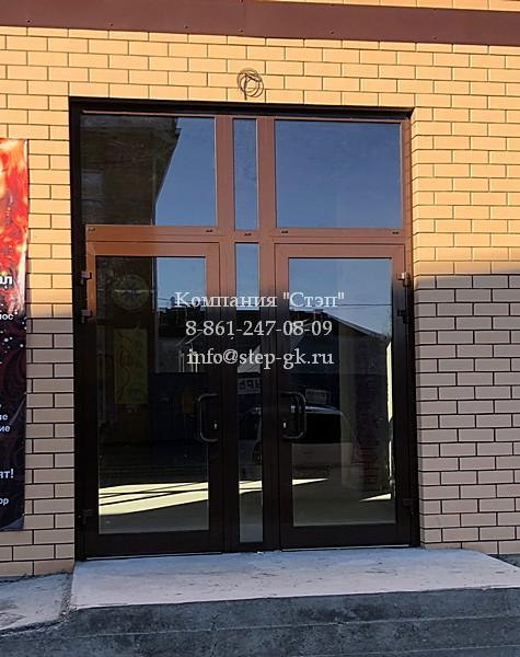 Алюминиевые двери от компании «Степ»