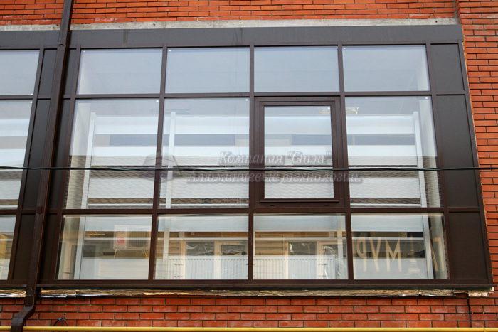 Алюминиевые окна в Краснодаре