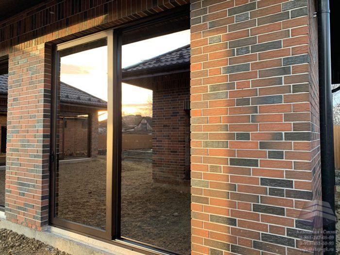 Алюминиевые раздвижные двери Анапа