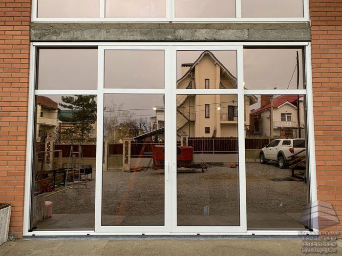 Алюминиевый раздвижной портал Краснодар