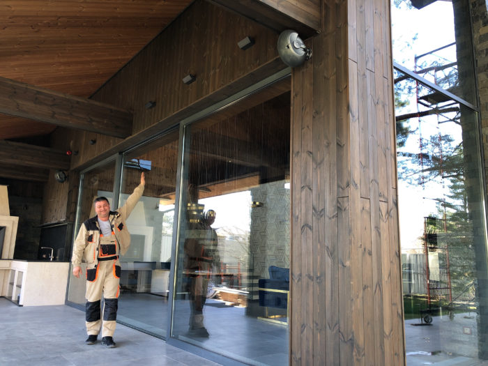 Раздвижные двери и окна для терассы в Краснодаре