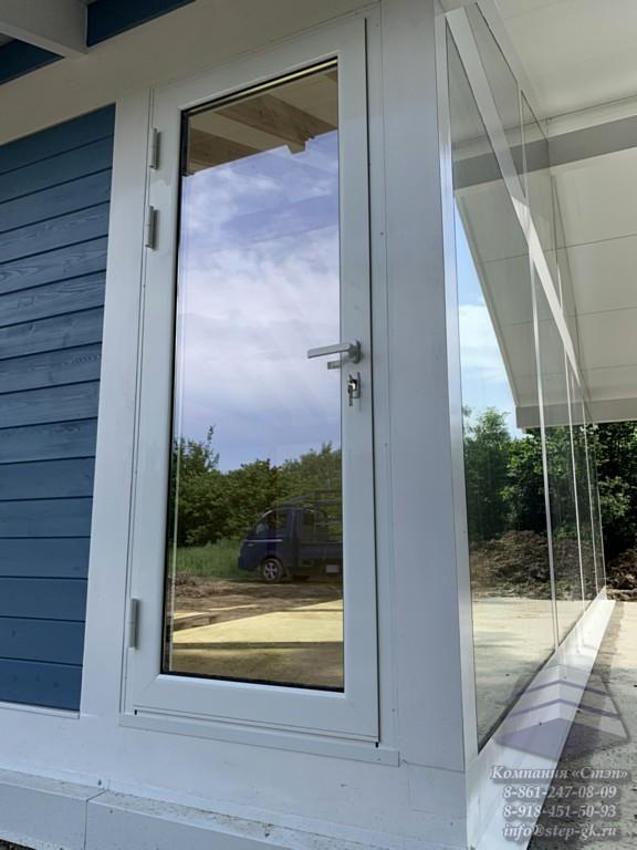 Алюминиевые двери из тёплого профиля Alumil M11000