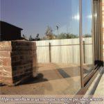 Раздвижная алюминиевая дверь Адлер