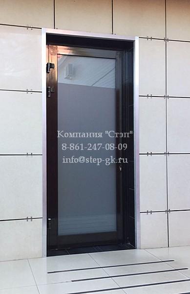 Тёплые алюминиевые двери Краснодар